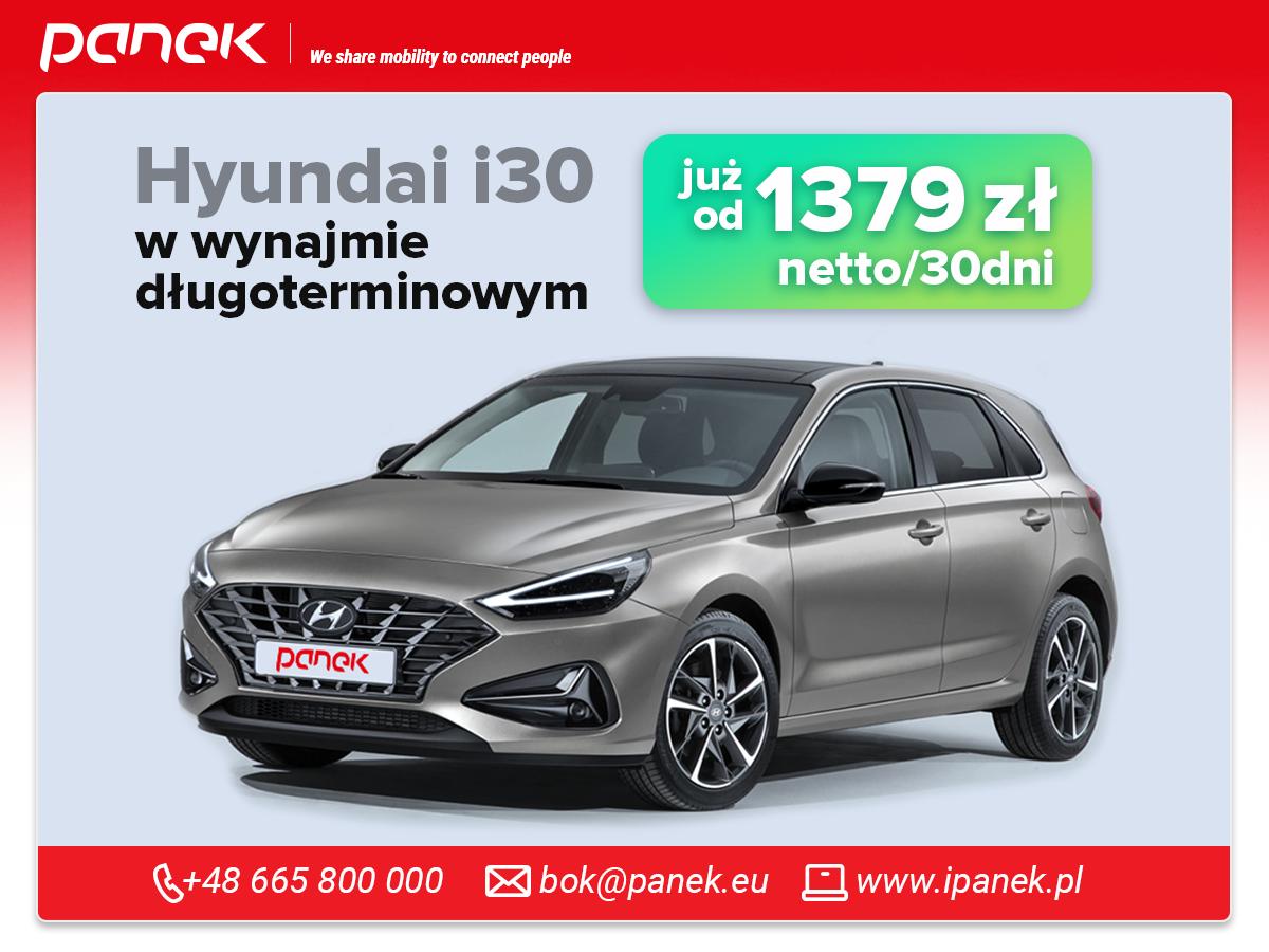 Wynajem długoterminowy – Hyundai i30